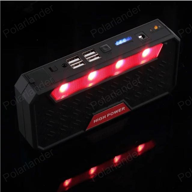 High Quality 12V Portable Mini Jump Starter 12800mAh Car Jumper Booster Power Bank for Petrol and Diesel