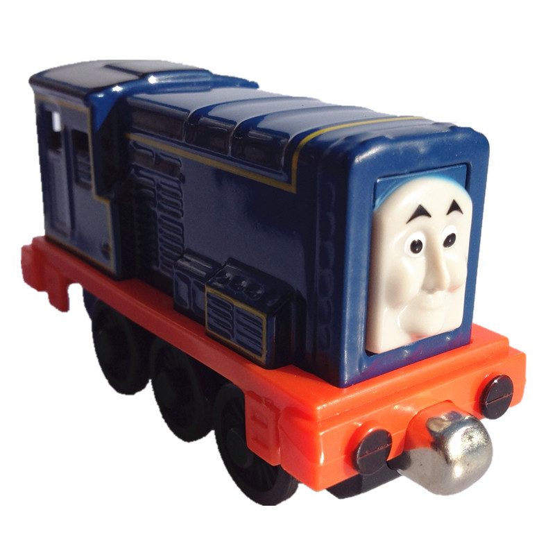 Kids thomas and friends trains Sideny magnetic Locomotive Diecast alloy metal models Railway trackmaster collection gift toys(China (Mainland))
