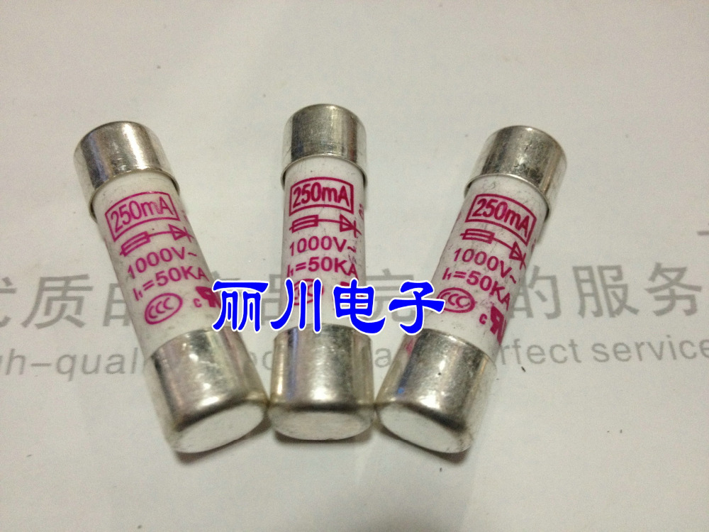 Free shipping. HOLLY Fast Fuse 10X38 250MA 0.25A 1000V<br><br>Aliexpress