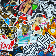 Car Styling Sticker Bomb Doodle Stickers Car Covers Skateboard Graffiti Snowboard Motorcycle Bicycle Luggage Bags Accessories(China (Mainland))