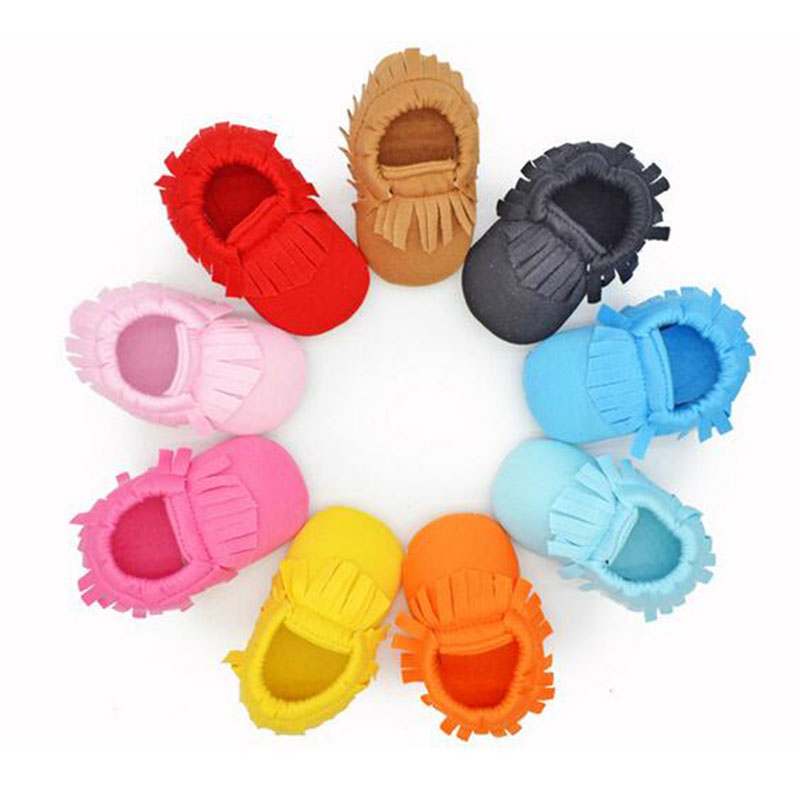 Wholesale 6Pairs/Lot Cotton Newborn Baby Infant Toddler Unisex Kid Prewalker Shoes Boy Girl Moccasins Soft Moccs Shoes Footwear(China (Mainland))