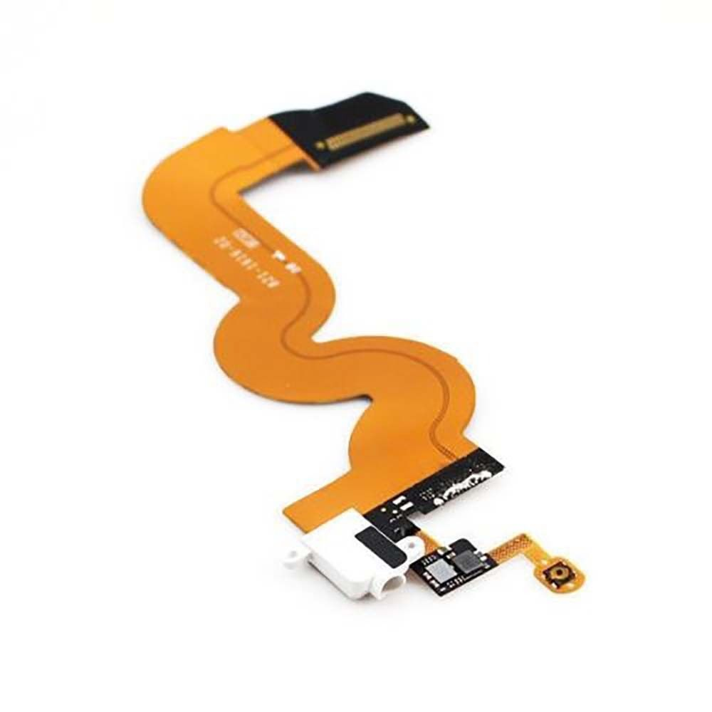 OEM White Headphone Audio Dock Connector Charging USB Port Flex Cable For iPod Touch 5th Gen(China (Mainland))