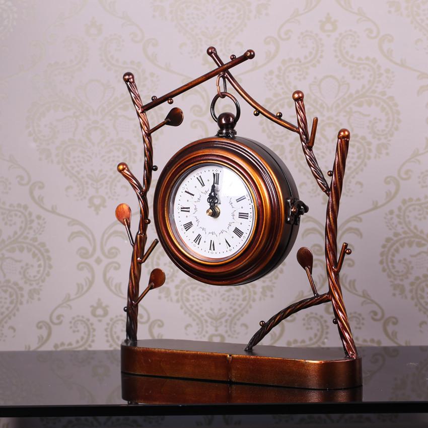Hierro moda reloj de la decoraci n sal n quieten p ndulo - Lopez del hierro decoracion ...