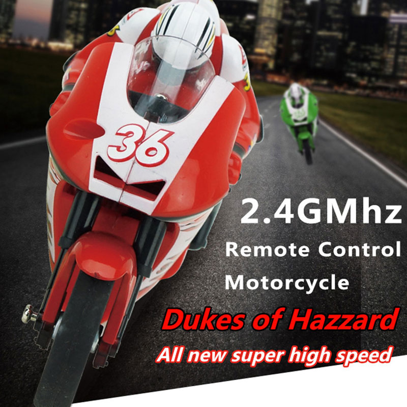 2.4GMhz 1:20 High Speed Remote Control Electric RC Motorcycle Moto Bike RTR(China (Mainland))