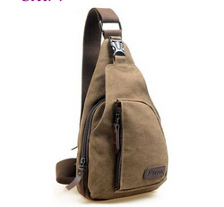 Fashion Vintage Men Messenger Bags Casual Outdoor Travel Hiking Sport Casual Chest Canvas Small Retro Military Shoulder Bag Z10(China (Mainland))