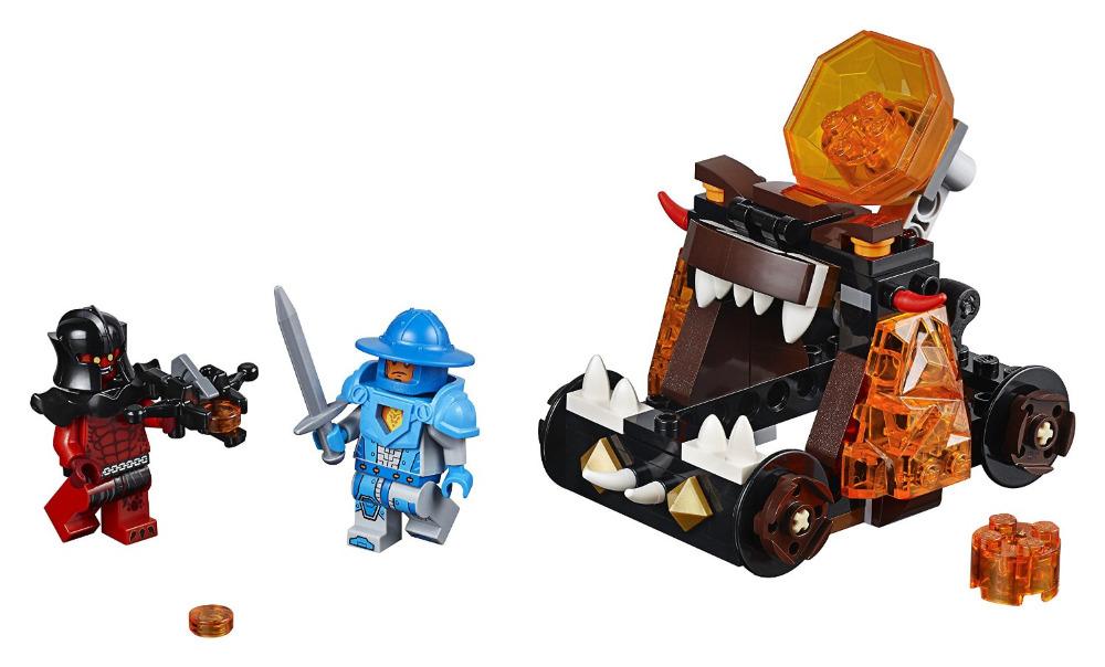 LEPIN Nexo Knights Chaos Catapult Combination Marvel Building Blocks Kits Toys Minifigures Compatible Legoe Nexus - A+ store