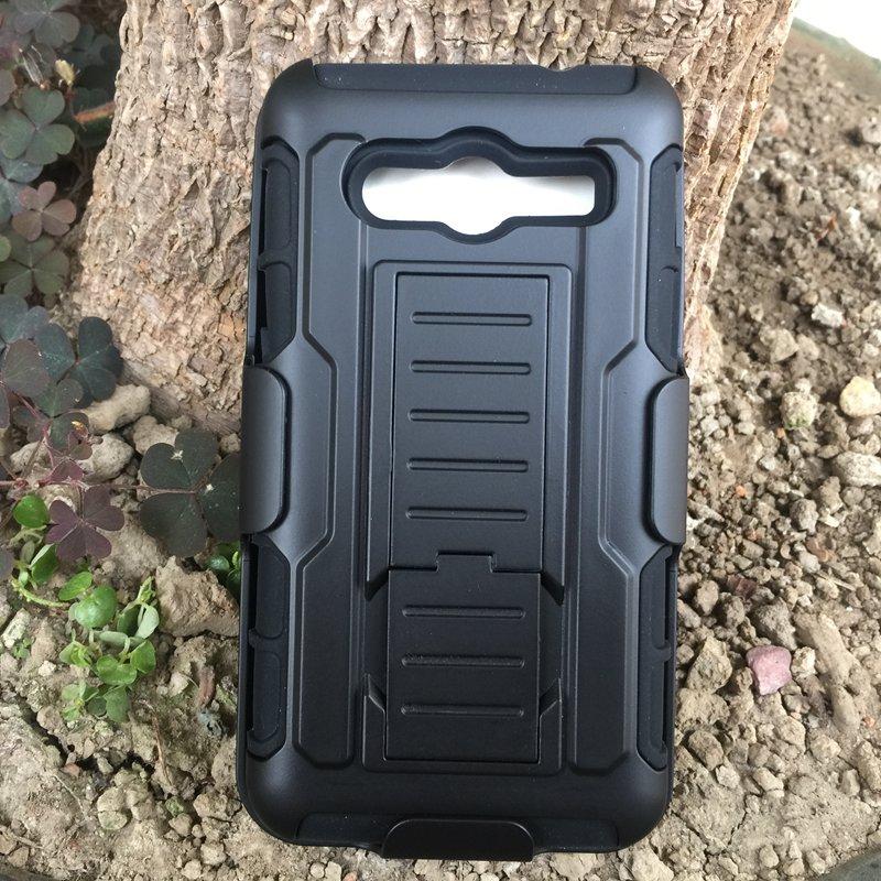 New Armor Dual Impact Hybrid Hard Case for Samsung Galaxy Core 2 Dual SIM G355H / Duos Dual SIM G355H Phone Cover Bags Cases(China (Mainland))