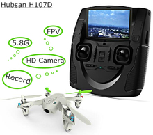 Hubsan X4 H107D FPV RC Quadcopter Drones camera LCD Transmitter drone Live Video Audio Streaming Recording Helicopter outdoor
