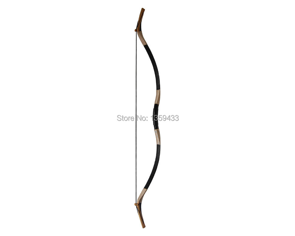 a super quality fully DIY archery adult shooting recurve bow 45lbs with true black snakeskin 57