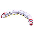 47 5 3 4 5cm Children Electric Toy Train Harmony Emu Train with 5 Carriage Jugetes