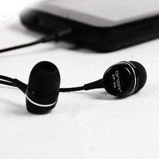 Ep90 high-fidelity in ear earphones fashion high quality black and white