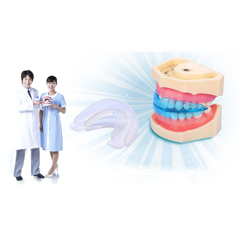 New Professional Dental Tooth Teeth Orthodontic Appliance Trainer Alignment Braces Oral Hygiene Care Equipment with Box