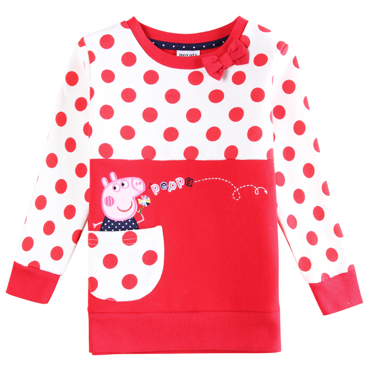 2015 long sleeve children t shirts girl t shirt nova kids brand cotton kids t shirt for girl children girls clothing fall style