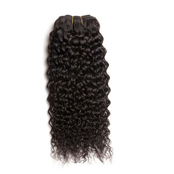 Afro Kinky Curly Remy Hair Extensions for Hot Sale Free Shipping #1 Jet Black 100g Deep Wave Hair Weave