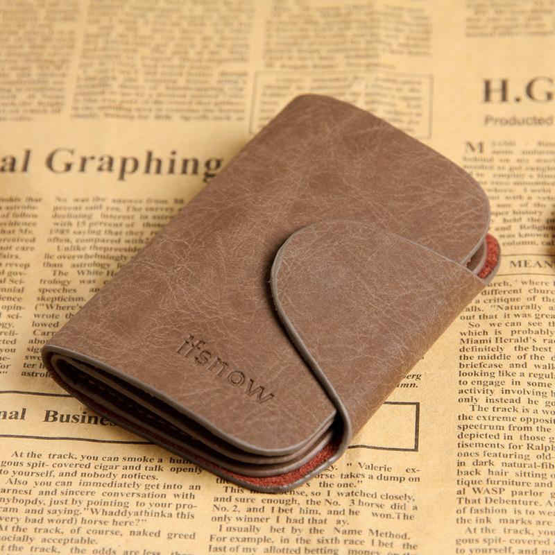 Fashion Genuine Leather Car Key Wallet Pocket Men Cow Housekeeper smart Keys Organizer Holder Purse Pouch Case Bags Wholesale(China (Mainland))