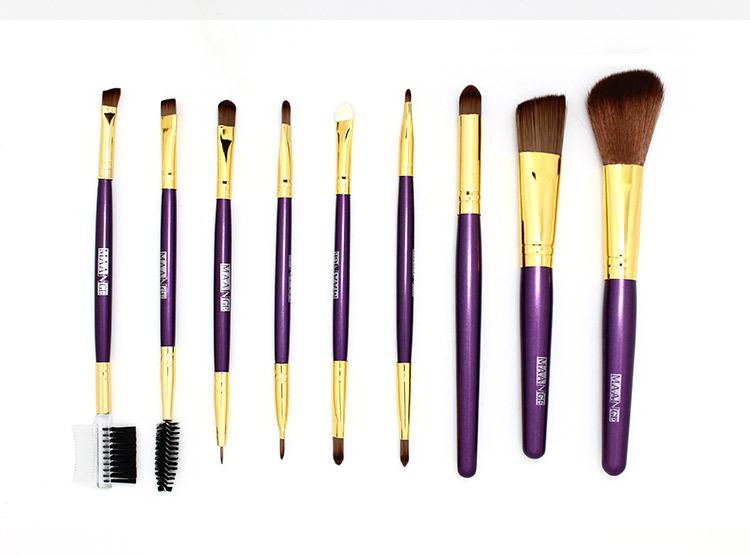 цена на Кисти для макияжа Maange 9pcs MB-0349