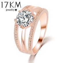 ออสเตรียคริสตัลแหวนซิลเวอร์โกลด์ชุบa nelliดอกไม้แหวนbagueหมั้นanillos anelแหวนสำหรับผู้หญิงแหวนแต่งงานDropship