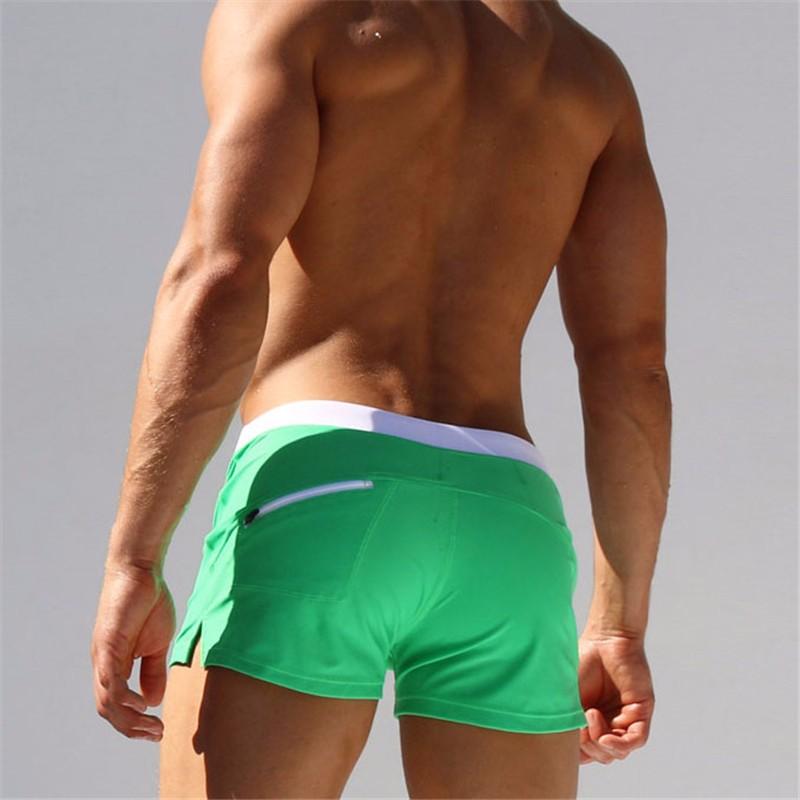 2016 Summer brand Swimwear Men Fashion Swimsuit Maillot De Bain Boy Swim Suits Boxer Shorts Swim Trunks Swimming Surf Banadores(China (Mainland))
