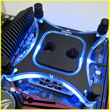 Xspc computer CPU water cooling cooler cooled heat Radiating kit water head Supports Sockets 1156 1155