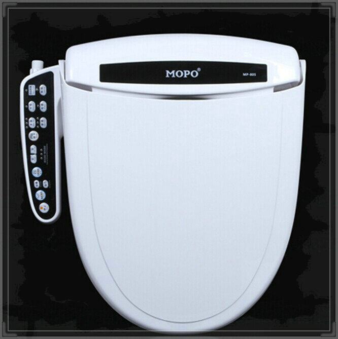 Гаджет  intelligent toilet heater seat bargeboard electronic toilet heater cover toilet lid automatic heated bidet shower toilet seat to None Строительство и Недвижимость