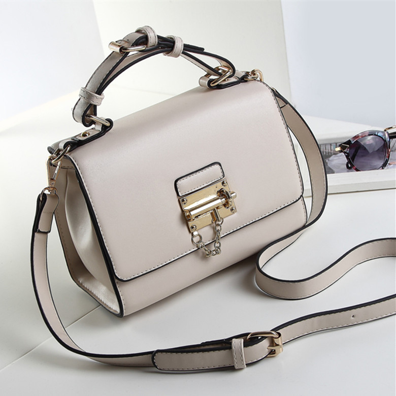 New Hot Promotion Women Leather Handbags High Quality 2015 Fashion Solid Cover Handbags & Crossbody Bags Of Famous Brand(China (Mainland))
