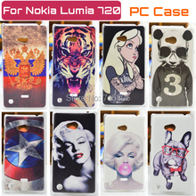Hard PC Case FOR Nokia Lumia 720 Case FOR Nokia Lumia 720 cover(China (Mainland))