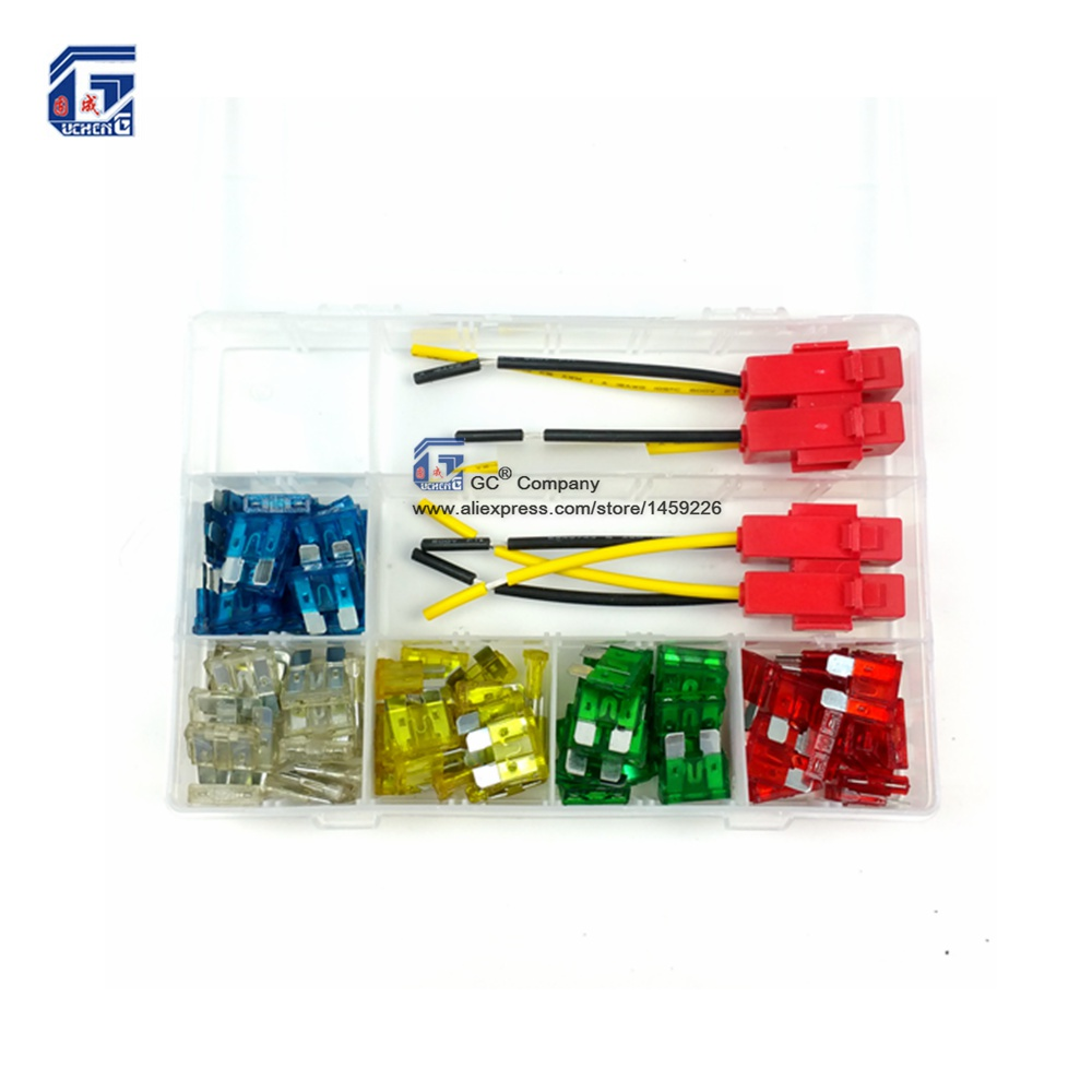 auto car boat motorcycle blade fuse box with ceramics