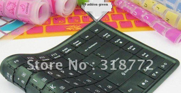 10pcs/Lot Color Metallic marking keyboard membrane Silicone Cover Protector Film Skin for IBM E220 laptop notebook(China (Mainland))