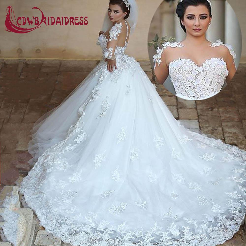 Online Get Cheap Ballroom Wedding Dress Aliexpress