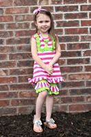 Fully stocked baby girls ruffle shorts sets clothes, summer ruffle shorts outfit, little girls boutique remake clothing sets