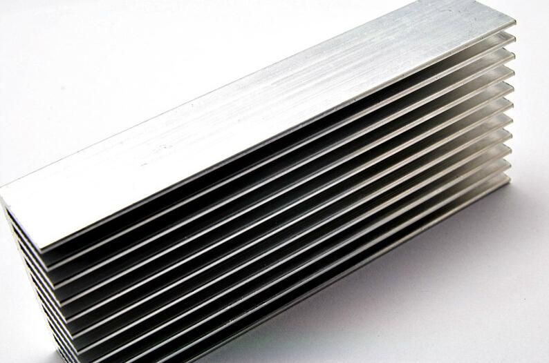 100*40*20MM Article heat dissipation Aluminum Radiator Aluminum Heat Sink Electronic Power Amplifier Heat Sink(China (Mainland))