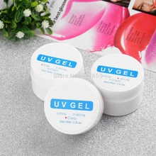 3 Colors 2015 Hot Sale UV Gel Nail UV Builder Gel Transparent Clear Nail Art Manicure Tips Glue Drop Shipping Wholesale(China (Mainland))