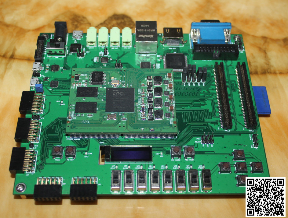ZedBoard ZYNQ 7000 development board development board XILINX FPGA development board(China (Mainland))