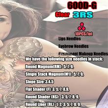 NEW 600D-G 3RS Tattoo & Permanent Makeup Rotary Tattoo Machine Needles For  Rotary Machine Pen Kits Free Shipping(China (Mainland))