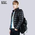 Fashion Men s Warm Winter Jackets Man Casual Thick Cotton Padded Coats Men Slim Parkas Stand