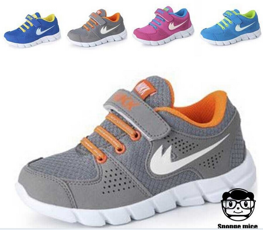 Nine color options new 2014 children's shoes boys girls running breathable size 25-37 - Marys's store