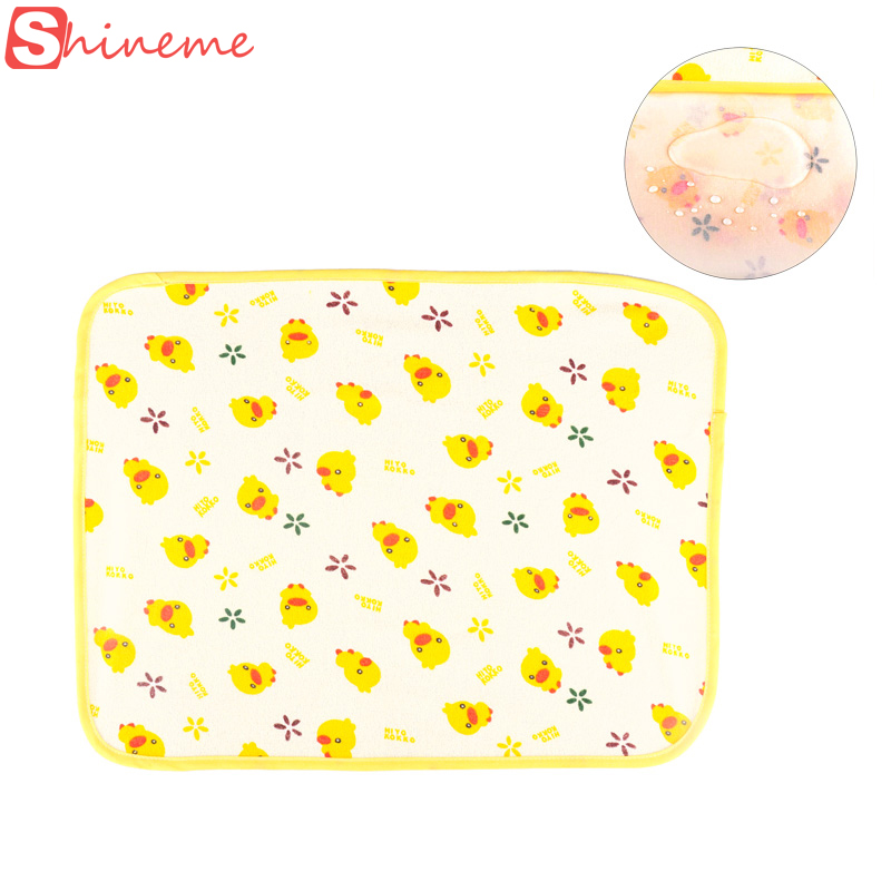 3 size animal newborn diaper nappy baby changing pad cover mat waterproof table portable large sheet travel baby care products(China (Mainland))