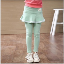 2016 New cute kids girl legging casual pants  girls candy colors leggings spring comfortable dress leggins for girl Hot