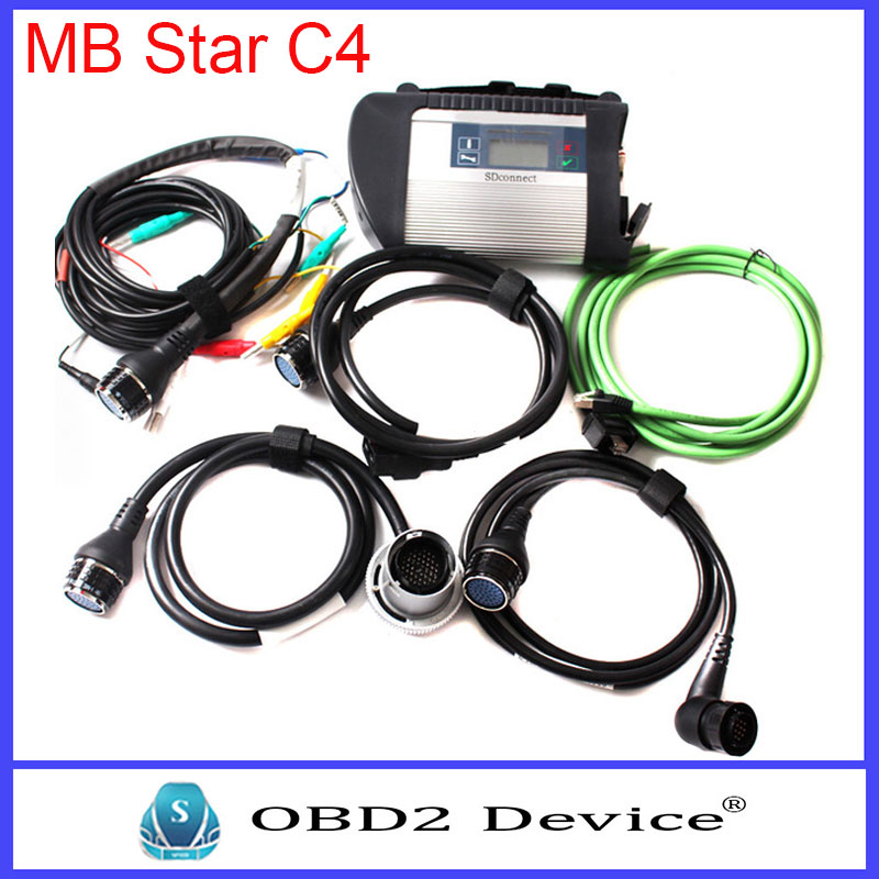 2016 New star C4 Compact Diagnose MB Star C4 Connect WIFI SD Quality With Diagnostic Tool Scanner mb star c4 sd connect latest(China (Mainland))