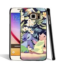05470 lilo stich child cell phone case cover Samsung Galaxy S7 edge PLUS S6 S5 S4 S3 MINI - Clio Vogue Mall store