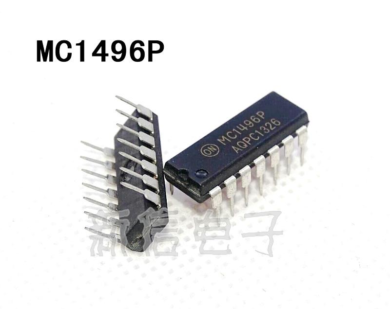 Integrated circuit MC1496P DIP - 14 new original MOTOROLA stock--XXDZ2(China (Mainland))