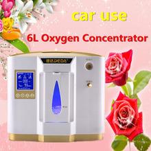 1-6L / min регулируемая новый тип портативный мини концентратора кислорода генератор главная / путешествия / авто физические