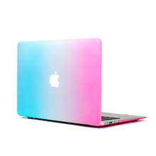 For Apple Macbook Air 13 Case Air 11 Pro 13 Retina 12 13 15 Clear Transparent Crystal Hard Case Case Protective Shell Rainbow
