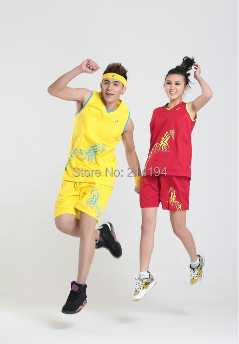Package men women new summer basketball clothing training uniform number can printed lettering - Online Store 214194 store