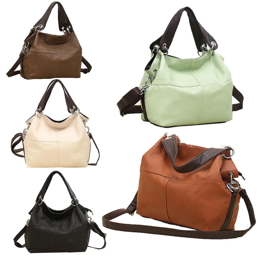2015 New Fashion Lady PU Leather Handbag Splice grafting Vintage Messenger Bags  High Quality<br><br>Aliexpress