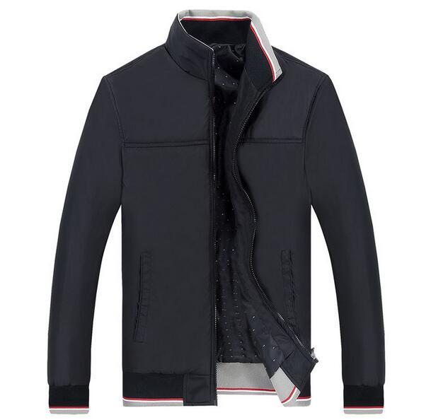 Men Jacket 2016 New Arrival Slim Men Spring Stand Collar Jacket Fashion Korean Style Mandarin Collar Zipper Young Thin Men Coat(China (Mainland))