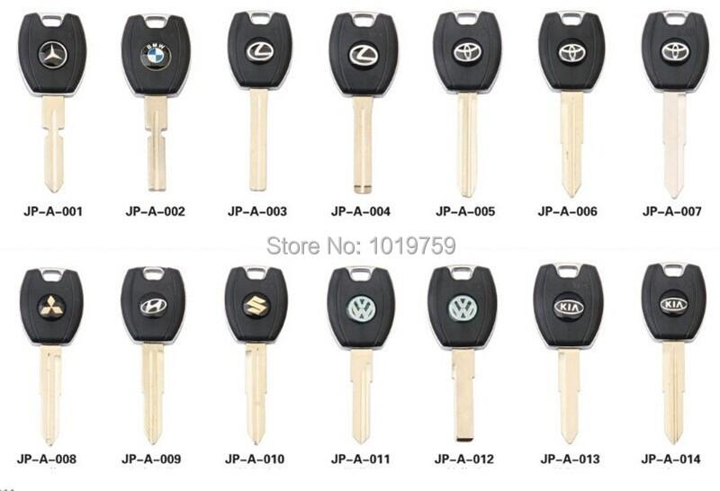 100pcs wholesale car key shell for Opel VW Mazda Buick Toyota key +DHL shipping(China (Mainland))