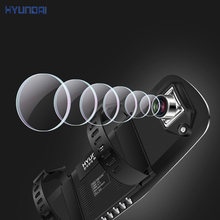 HYUNDAI 4 3 Blue car dvr camera rearview mirror 175 degree Ambarella A7 dual lens parking