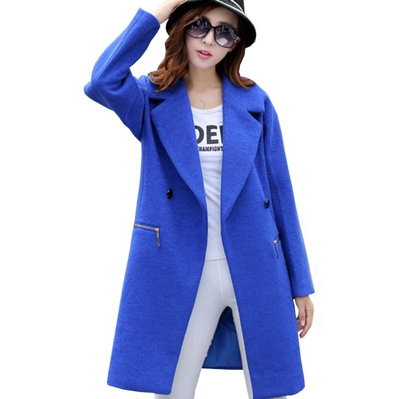 Wool Blue Coat