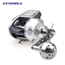 2015 New Model Digital Boat reel EMS1500L/R dual power digital display round fish boat fishing reel(China (Mainland))